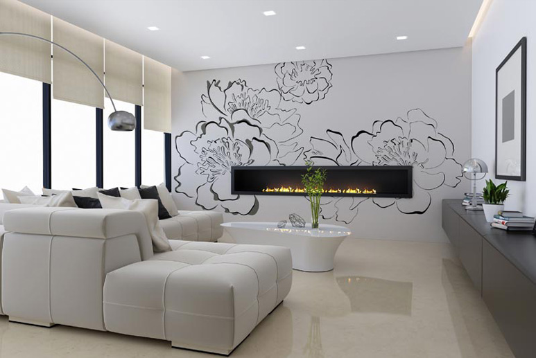 decoration mural. Black Bedroom Furniture Sets. Home Design Ideas